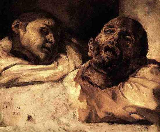 Gericault - art prints, pictures - Severed Heads.
